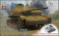 TKS - Polish Tankette with 20mm NKM wz. 38 FK-A STARTER SET includes quick build tracks