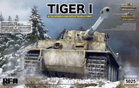 German Tiger I Early Production Wittmanns Tiger No. 504 with full interior and clear parts with workable tracks