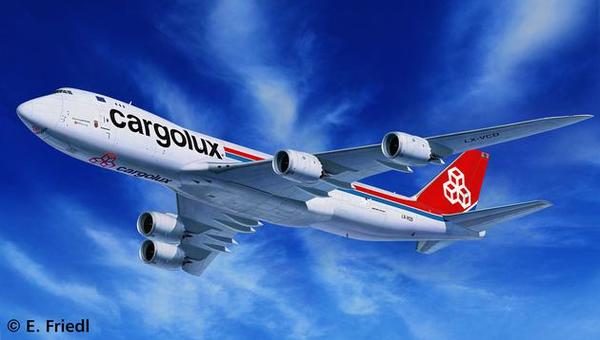 boeing 747 8F cargolux revell 1:144 réf 04885 3914_rd