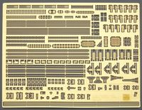 QG35 Japanese Navy Ships Photo Etched Parts