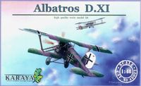 Albatros D.XI – second version – resin + pe + decals (incl.B04)