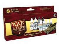 70157 War Games Paint Series - Vehicle Basic Paint Set