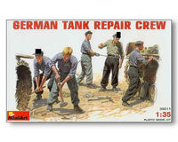 German Tank Repair Crew (5 Figures) - Image 1