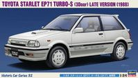 21132 Toyota Starlet EP71 Turbo-S (3 Door) Late Version (1988)