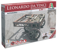 Leoanardo Da Vinci marvellous machine-Self Propelled Charriot