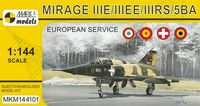 Mirage IIIE/EE/RS/5BA In Europe (French, Spanish, Swiss & Belgian AF) - Image 1