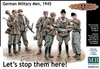 Lets stop them here! German Military Men, 1945  - Image 1