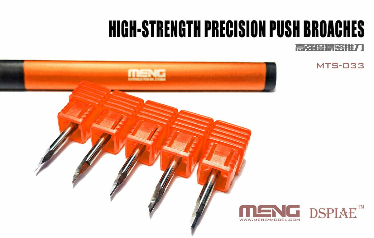 High-strenght Precision Push Broaches - Image 1